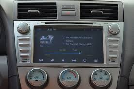 review toyota camry radio navigation gps bluetooth head unit