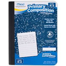 writing a composition paper amazon com mead primary composition book ruled 100 sheets 200 view larger