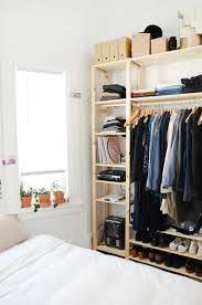 Bedroom Wall Unit Closets Five Roommates Share A