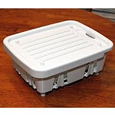 Plastic Dish Drying Rack Rv Dish Drainer Direcsource Ltd 69023 Sink Accessories