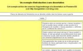 L     introduction d     une dissertation
