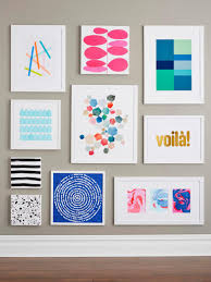 Art On Walls Home Decorating by 9 Easy Diy Wall Art Ideas Hgtv