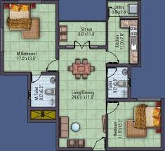 1300 sq ft 2 bhk 2t apartment for sale in saffron shelters beehive