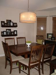 The Keylor Family I WANT THAT Drum Pendant Light Tutorial - Pendant light for dining room