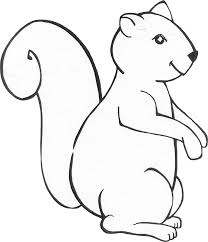 Halloween Preschool Printables Animals Free Printable Coloring Colour In Printable Red Squirrel
