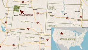 Map Of Utah And Colorado by Where Is Yellowstone National Park My Yellowstone Park
