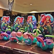 Finding Nemo Centerpieces by Arco Sirenita Baloons Decor Pinterest Balloon Arch Mermaid