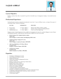 Sample Resume Objectives When Changing Careers by Sample Resume For Business Administration Major In Marketing