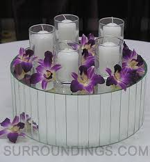 Purple Floating Candles For Centerpieces by 82 Best Purple Wedding Inspiration Images On Pinterest Marriage