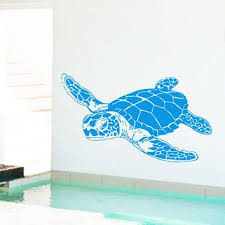 Sea Turtle Home Decor Best Sea Turtle Wall Decal Products On Wanelo