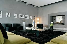 Yellow And Gray Living Room Rugs Black Living Room Rugs U2013 Intentional Decoration For Classy Look