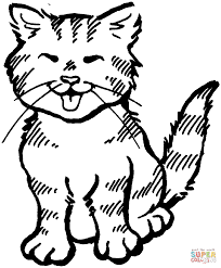 decorative halloween coloring pages of black cats coloring cat