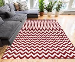 Zig Zag Area Rug Funky Red Area Rugs 5 Creative Designs To Choose From Funk