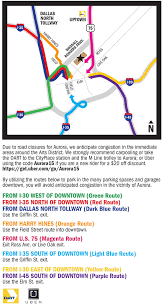 Downtown Dallas Map by Attend Aurora