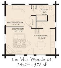 Small House Floor Plan by Small Log House Floor Plans Hickory Spring Log Home Floor Plans