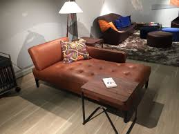 leather chaise lounge decor u2014 prefab homes