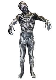 Kids Skeleton Halloween Costumes Kid U0027s Skull And Bones Skeleton Morphsuit