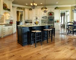 Distressed Black Kitchen Island by Hardwood Flooring In Kitchen Black Kitchen Island Matching Bar