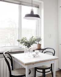 dining table near the window thonet chairs k i t c h e n