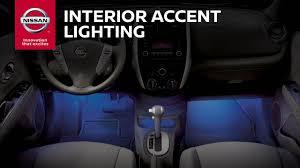 nissan altima 2013 accessories interior accent lighting genuine nissan accessories youtube