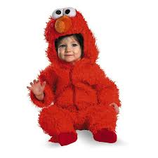 Cookie Monster Halloween Costumes by Amazon Com Elmo Infant Plush Halloween Costume Health U0026 Personal