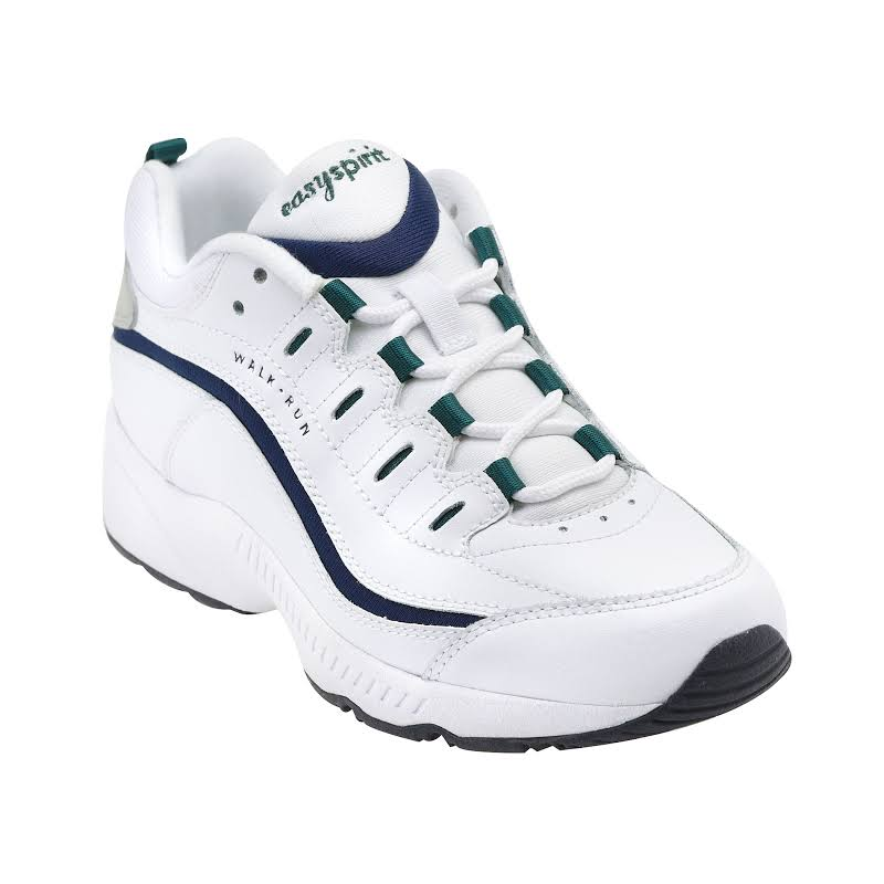 Easy Spirit Romy Walking Shoes White- Womens