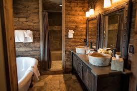epic bedroom lodges decor design ideas using bear tribal bed