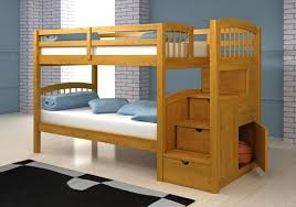 Plans For Bunk Bed With Steps by Bedroom Inspiring Bed Style Ideas With Cozy Full Over Full Bunk