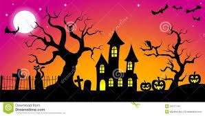 halloween background stock vector image 45166444