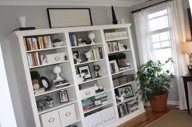 wonderful walnut veneer for ikea bookshelves with glass doors and