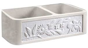 Marble Farmhouse Apron Front Kitchen Sinks - Marble kitchen sinks