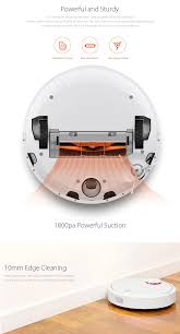 Cleaning Robot by Xiaomi Mi Robot Vacuum Cleaner Robot White