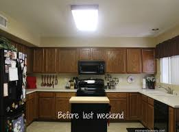 How To Design Kitchen Lighting by Mini Kitchen Remodel U2013 New Lighting Makes A World Of Difference