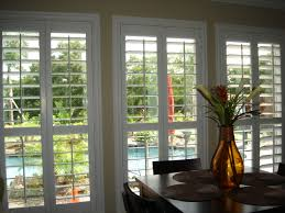 Home Depot Interior Window Shutters Window Treatments For Large Window