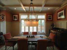 arts and crafts style dining room table craftsman style dining