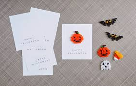 halloween party favors perler beads printable cards a pretty