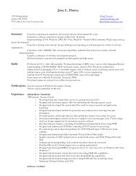 Software Engineer CV Example for Engineering   LiveCareer program director resume