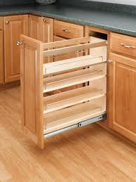 amazon com rev a shelf 448 bc 5c 5 in pull out wood base
