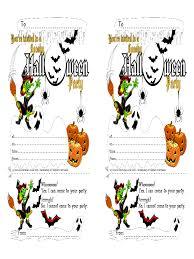 halloween invitation template 4 free templates in pdf word