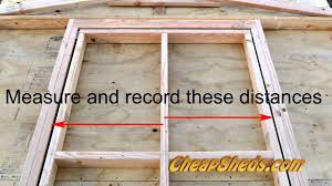 Plans To Build A Wooden Garden Shed by How To Build A Shed Door Youtube