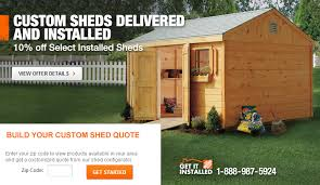 Backyard Storage Building by Do You Charge A Fee To Install A Backyard Storage Shed The Home