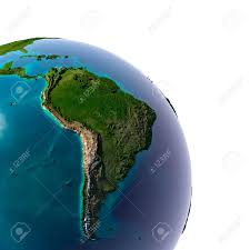 South America River Map by South America Map Stock Photos Royalty Free South America Map