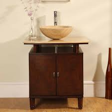 Modern Walnut Bathroom Vanity by 30 Inch Modern Vessel Sink Bathroom Vanity In Dark Walnut Uvlf301230