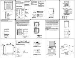 Diy 10x12 Shed Plans Free by 12x10 Shed Plans How To Build Diy By 8x10x12x14x16x18x20x22x24