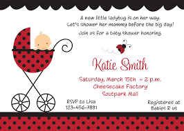 ladybug baby shower invitation u2013 gangcraft net