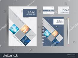 Website Design Ideas For Business Corporate Identity Business Catalog Cards Notebook Stock Vector
