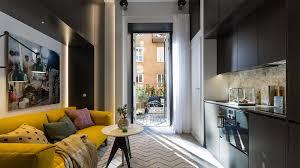 Micro Studio Plan Tiny Studio Apartment With Cozy Yet Elegant Ambiance Idesignarch