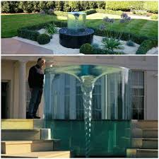 Gazing Ball Fountain Diy Vortex Water Fountain Vortex Water Water Fountains And Fountain