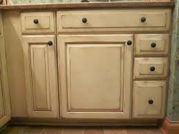 kitchen tiny distressed white kitchen cabinets with round black