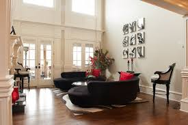 black sofa living room design lovely all dining room